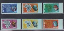 Guinea 1972 ITU Space Satellites  Sc 604-607, C120-2 IMPERF   Mint Never Hinged