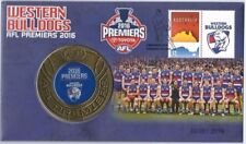 2016 AFL Premiers Western Bulldogs Medallion Cover PNC NUMBERED 20