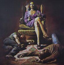 HATCHETT Boris Vallejo Vintage Art 1976 GGA Girl Boss Smoking Gun Lee McGraw