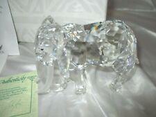 SWAROVSKI YEARLY SCS PIECE ELEPHANT-MINT IN BOX-RETIRED 1993