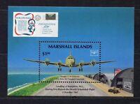 s1901a) MARSHALL ISL. 1986 MNH** Ameripex s/s