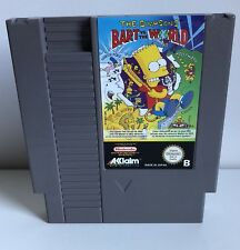 Bart VS The World Pal B Nintendo NES