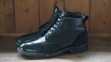 $750 VIBERG x WINGS+HORNS One of a kind Service Boot Leather CXL Black Size 8.5