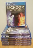 Lichdom: Battlemage - PlayStation 4, PS4 - BRAND NEW AND FACTORY SEALED!