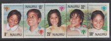 (K202-45) 1979 Nauru $1.30 5strip of stamps year of the Children (Bh)