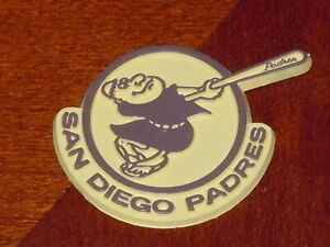 SAN DIEGO PADRES Vintage Old MLB RUBBER Baseball FRIDGE MAGNET Standings Board