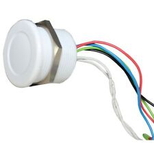 Switch Piezo Plastic M22 White Camden Boss 12V Tri LED Intruder Switch