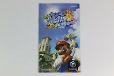 Super Mario Sunshine Nintendo Gamecube Manual IM-DOL-GMSP-UKV