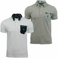 Mens Polo T-Shirt by Voi Jeans 'Kansas' Short Sleeved