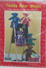 "Dream Spinners 20"" Bean Bag Teddy Bear Magic Sewing Pattern"
