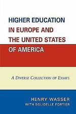 HIGHER EDUCATION IN EUROPE AND THE UNITED STATES OF AMERICA - NEW PAPERBACK BOOK