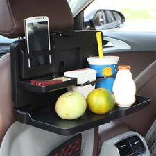 EE_ AUTO CAR BACK SEAT FOLDING TABLE DRINK FOOD CUP TRAY HOLDER STAND DESK RACK