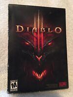 Diablo III 3 Game DVD Computer PC Windows Mac, 2012 Manual New