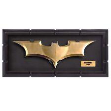 Batman The Dark Knight movie - BATARANG - cosplay metal Prop Replica w/ Display