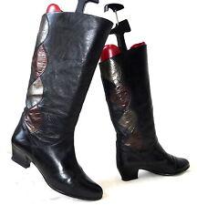 GABOR VINTAGE STIEFEL 5,5 38 Stiefeletten Lederstiefel Leder leather boots