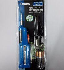 "1 x ""TAKUMI"" KBI-645 wireless electric battery soldering iron 6W 4.5V"