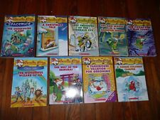 Lot of 9 GERONIMO STILTON Mystery Chapter Books MOUSE AR