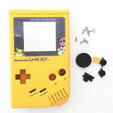 Pikachu Yellow Full Housing Shell for Nintendo For Gameboy Classic DMG-01