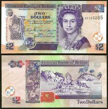 Belize 2 DOLLARS 2007 P 66c UNC
