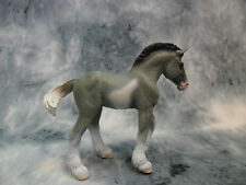 CollectA NIP * Clydesdale Foal - Black Roan Sabino  * #88626 Model Horse Toy