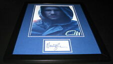 Marc Blucas Signed Framed 11x14 Photo Display Necessary Roughness Buffy
