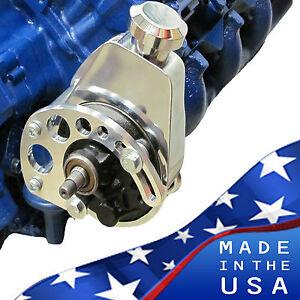 Big Block Ford Power Steering Bracket 429 460 BBF Saginaw PS Mechanical or EWP