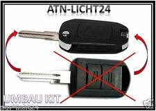 CAR KEY Fernbedienung Umbau Kit Klappschlüssel Key OPEL Bart Typ D82 770 & 3579