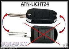 Transformación kit plegable clave key Opel Zafira meriva Agila combo Corsa C barba tipo B