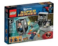Lego Superman Black Zero Escape (76009) Great Minifigures! New Sealed