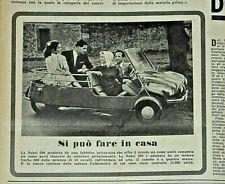 1958 L'AUTOMOBILE n.36 MICROCAR NOBEL 200 ISETTA SIMCA P60 BRISTOL 406 COLLI TO
