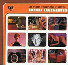 ANDY WILLIAMS In The Lounge With CD Album Columbia 494508 2 1999