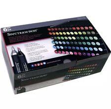 Spectrum Noir Marker Storage, 6 Stackable Black Trays, holds 72 Markers/Pens