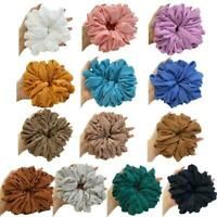 Large Hair Scrunchies Women Hair Rope Hairband Elastic Hair Accessories D9J4