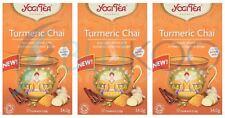 Yogi Tea Curcuma Chai - 17 Intercalaires (Pack de 3)