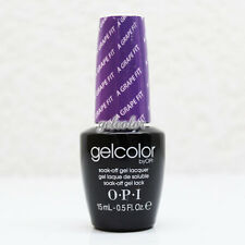 OPI GelColor Soak Off LED/UV Gel Nail Polish 15ml 0.5 fl oz A Grape Fit #GCB87