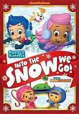 BUBBLE GUPPIES / TEAM UMIZOOMI: INTO THE SNOW WE - DVD - Region 1 - Sealed
