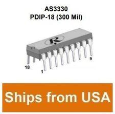ALFA RPAR AS3330-DIL Dual Voltage Controlled Amplifier (CEM3330 equiv) DIL-18