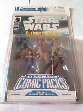 STAR WARS FUMETTI Pack: OMBRE DELL'IMPERO #4 - Leia Organa e Principe Xizor