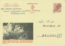 BELGIUM 1963 2Fr King Leo II postal stationery postcard w BELATED DEVALUATION R!