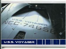 Star Trek Voyager Quotable USS Voyager Chase Card V1