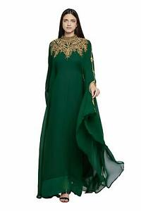 Royal Moroccan Caftan Dubai Kaftan Abaya Jalabiya Wedding Robe Takchita var