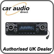 Caliber RCD120BT/B Retro Style Classic Bluetooth Car Stereo Radio CD MP3 SD USB