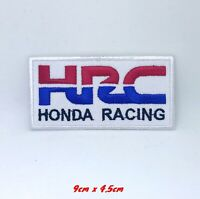 HRC Honda Racing Biker Jacket Iron on Sew on Embroidered Patch #249