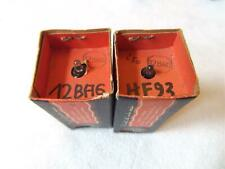 LOT 2x 12BA6 HF93 FIVRE LAMPE TUBE VALVE NOS >> SEALED BOX NIB BOITE SCELLEE =°=