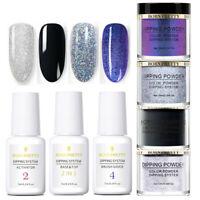 7Pcs/Set BORN PRETTY 10ml Dipping Powder System Liquid Nails NO UV Pro Kit
