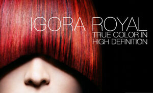 Schwarzkopf Igora Royal True Naturals Permanent Hair Color All Shades 60 ml