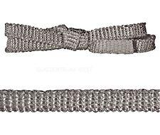 Kamindichtung Flachdichtung Ofendichtung Dichtschnur 2x10mm 1 Meter schwarz