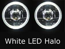 """Ford Falcon XM XR XY GS XP XW XA XB XC XT XY GT WHITE LED Halo 7"""" headlights"""