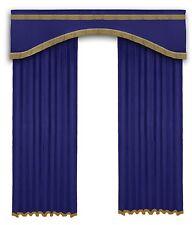 Door Window stage Home Theater Velvet Curtain  6ftWx8ftH Decorative Events Bar