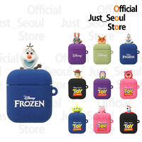 Official Disney Pixar Toy Story  Figure Soft Jelly Airpods Case Cover + Tracking